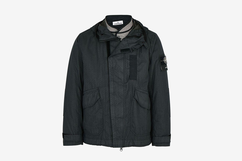 Reflective-Weave Ripstop Jacket