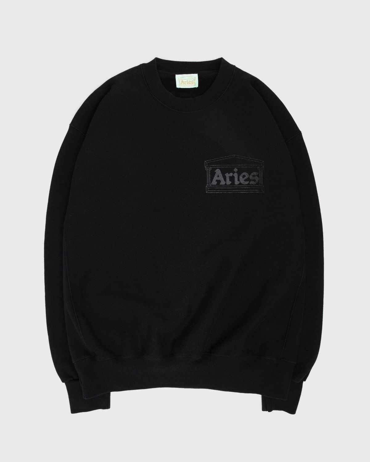 Aries - Premium Temple Sweatshirt Black - Image 1
