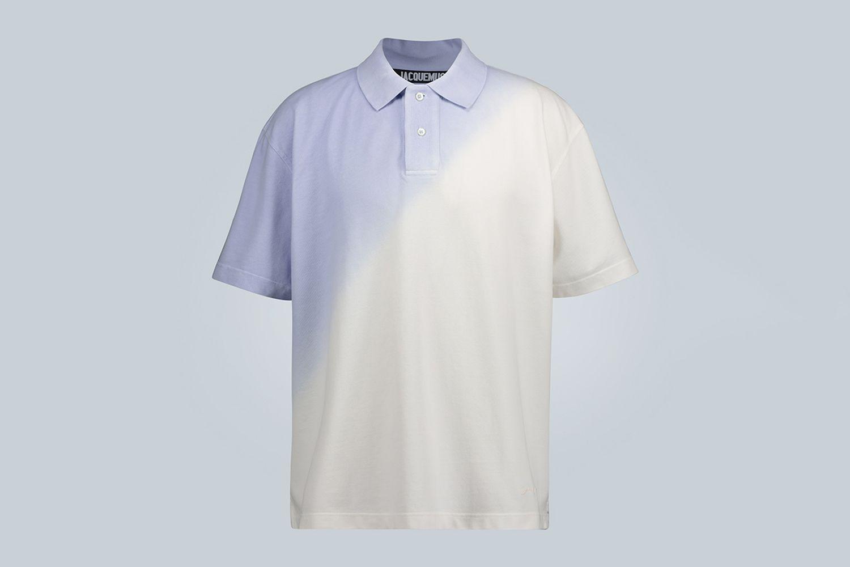 Le Polo Soleil Gradient Polo Shirt
