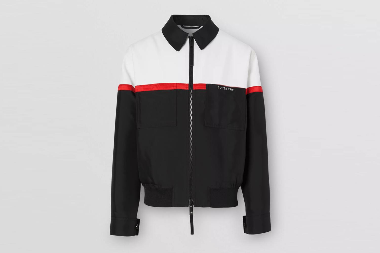 Tri-tone Technical Wool Harrington Jacket