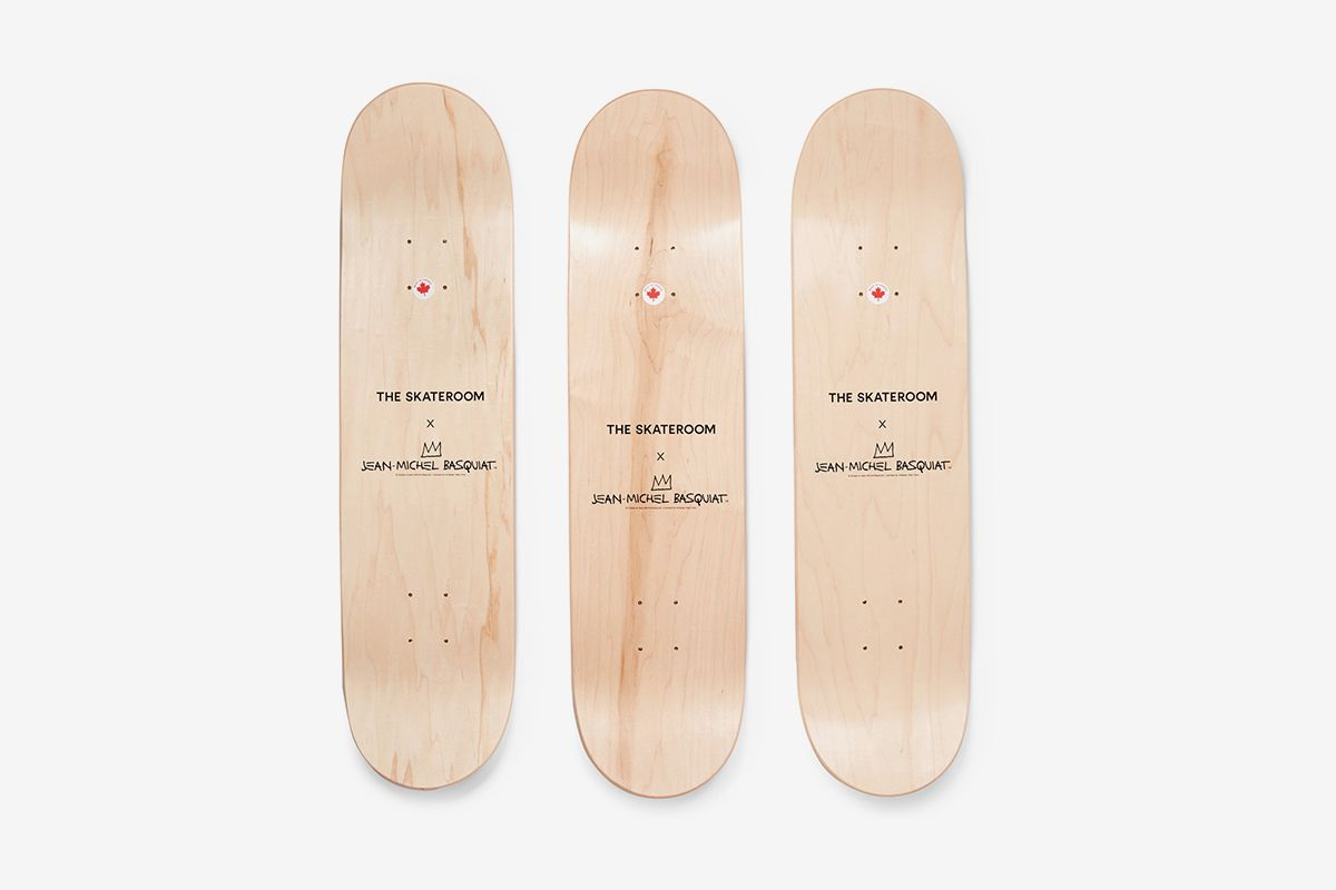 Jean-Michel Basquiat Skateboards Set