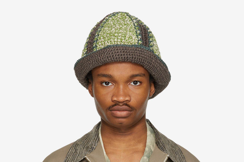 Hand-Crochet Bucket Hat