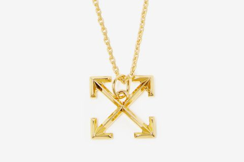 Cross-Arrow Small Pendant Necklace