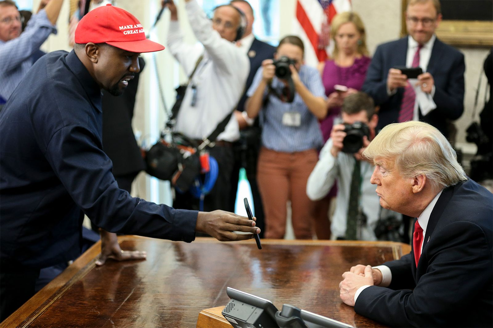 kanye west white house lunch meeting donald trump