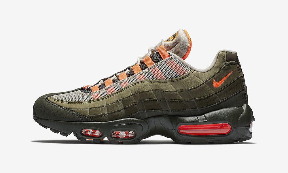 96aa8edf1a Nike Air Max 95 Olive Orange: Release Info