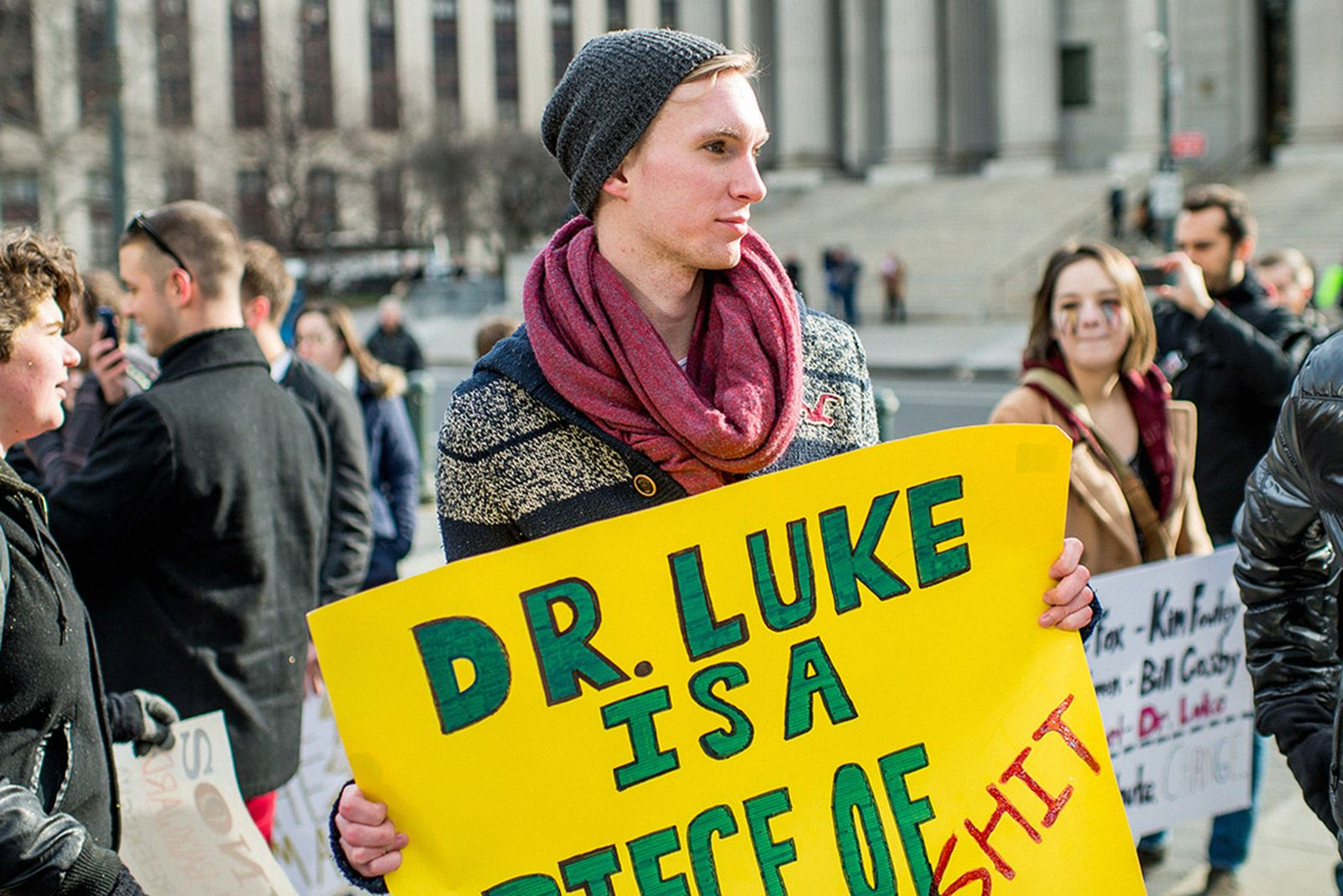 op ed still reluctant hold abusive musicians accountable Dr. Luke Kesha R. Kelly