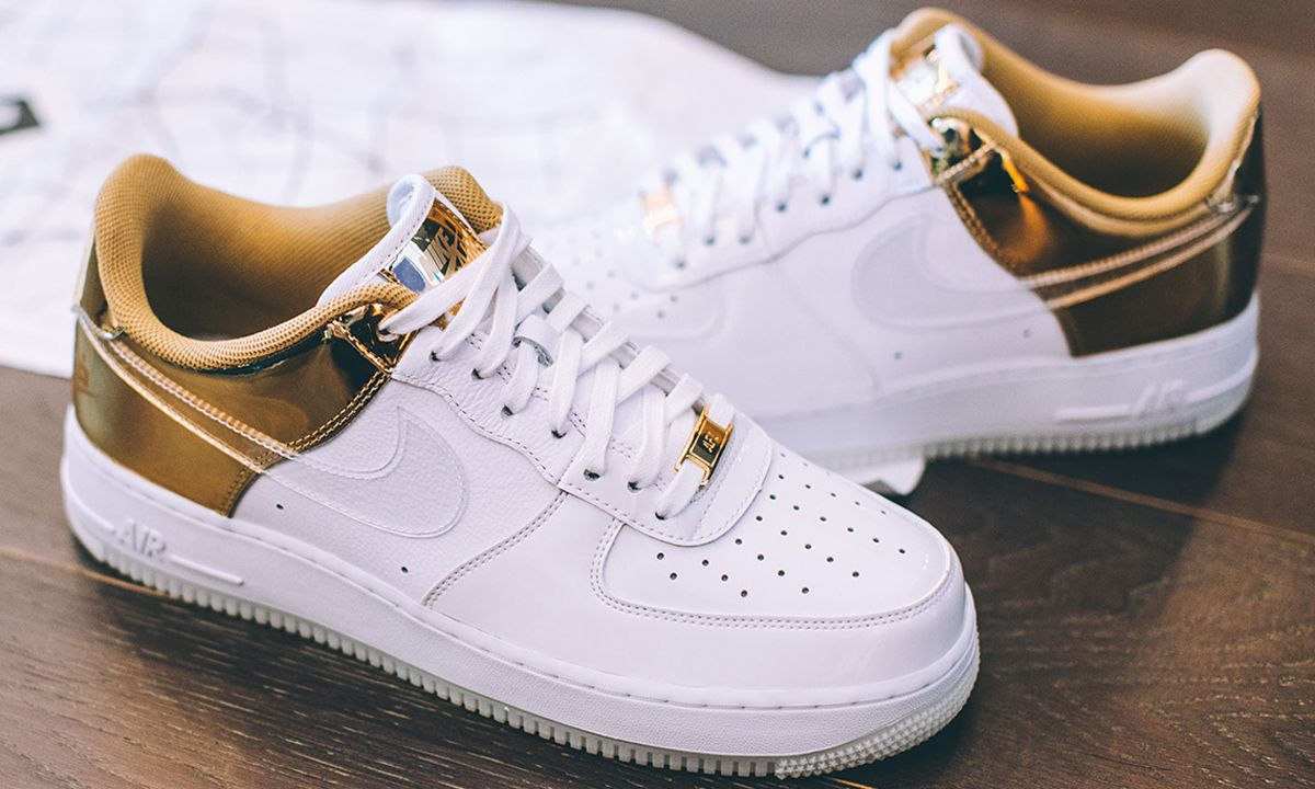 nike 39 s shanghai exclusive air force 1 see here. Black Bedroom Furniture Sets. Home Design Ideas