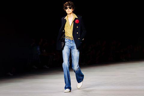 bootcut jeans main2 Balenciaga Jacqeumus Levi's