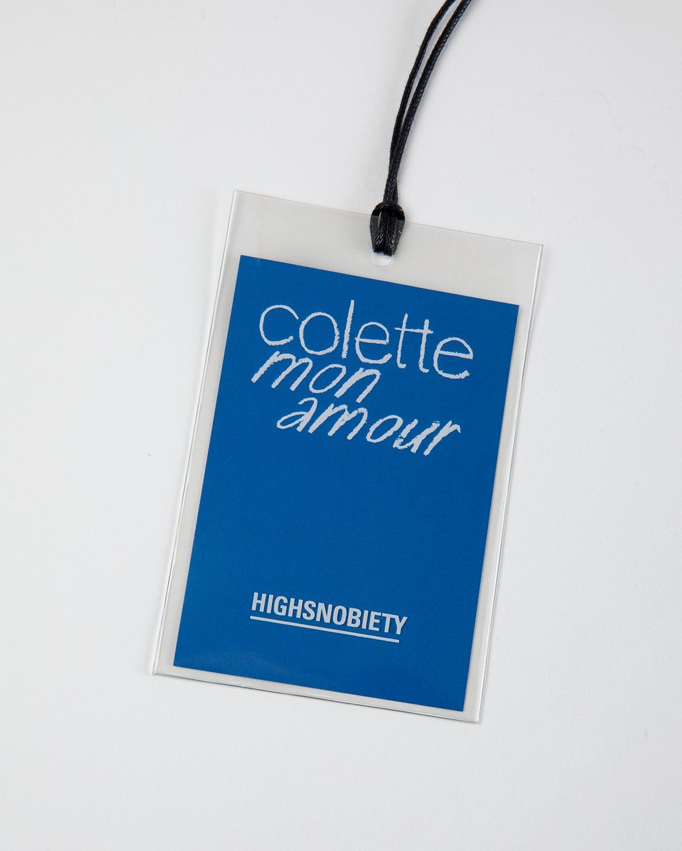 Colette Mon Amour — Water Bar T-Shirt Blue - Image 2
