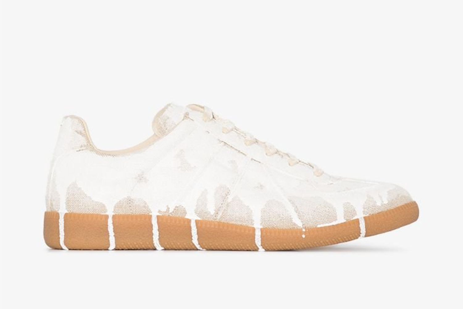 Replica Dripping Paint Sneakers