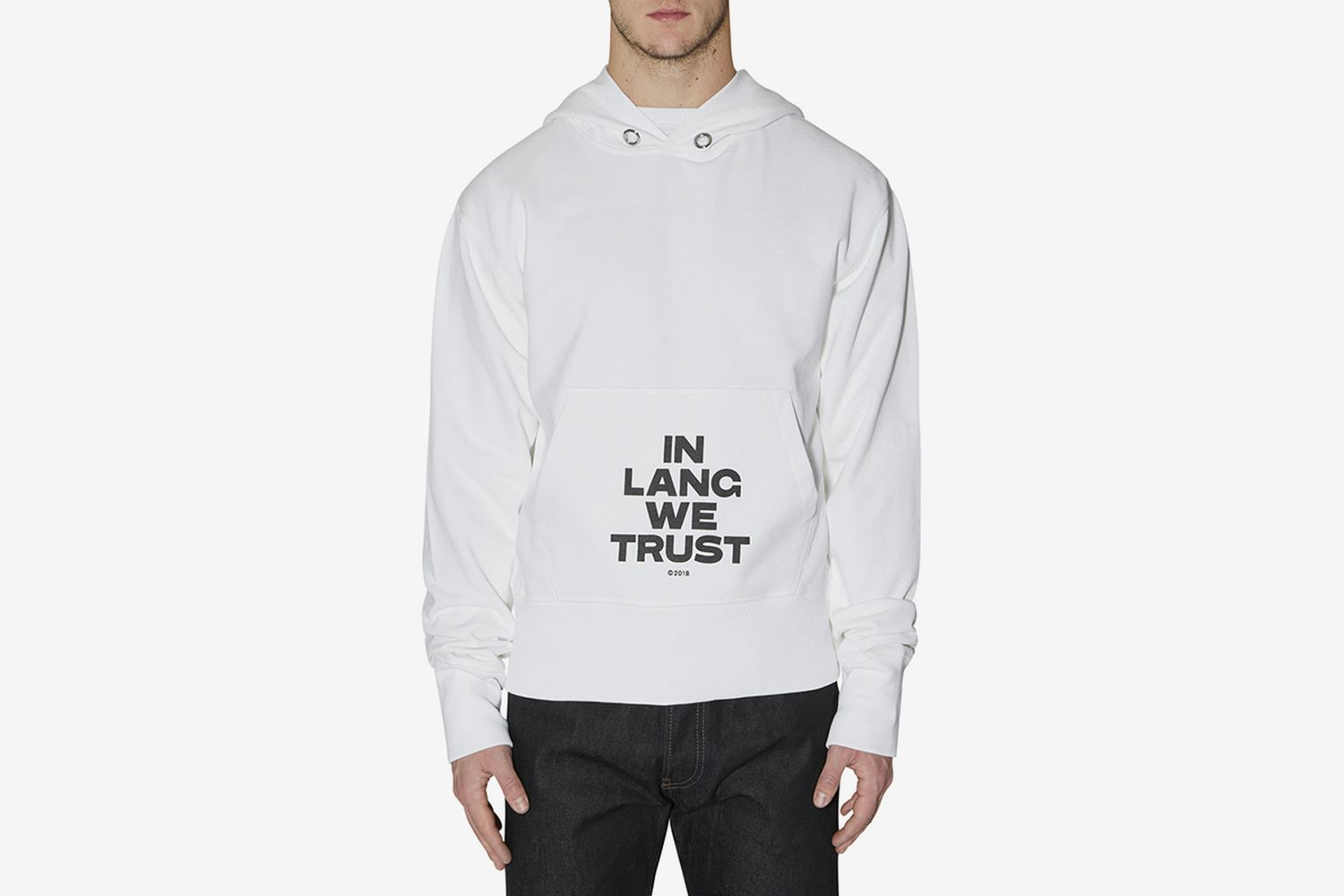 In Lang We Trust Hooded Sweatshirt