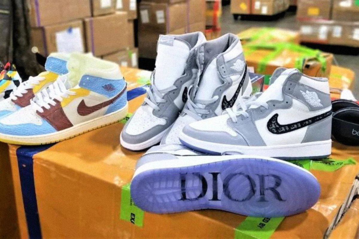 U.S. Customs Makes Another Huge Fake Sneaker Bust Worth $32 Million 3