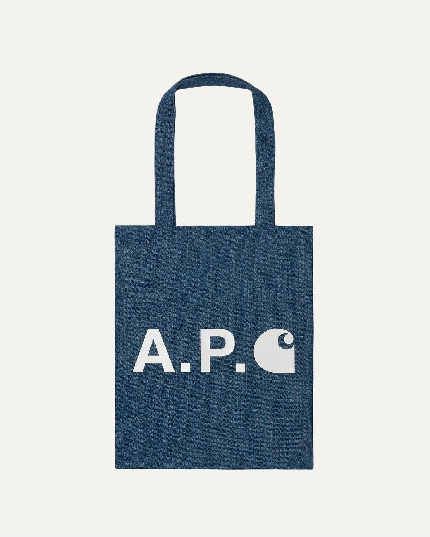A.P.C. x Carhartt WIP - Alan Tote Indigo - Image 1