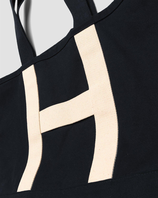 Highsnobiety – Heavy Canvas Large Shopper Tote Black - Image 3