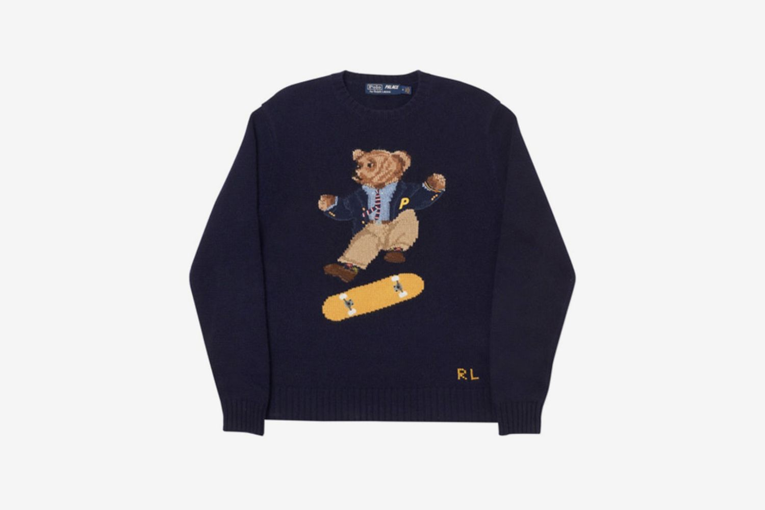 Skate Polo Bear Sweater