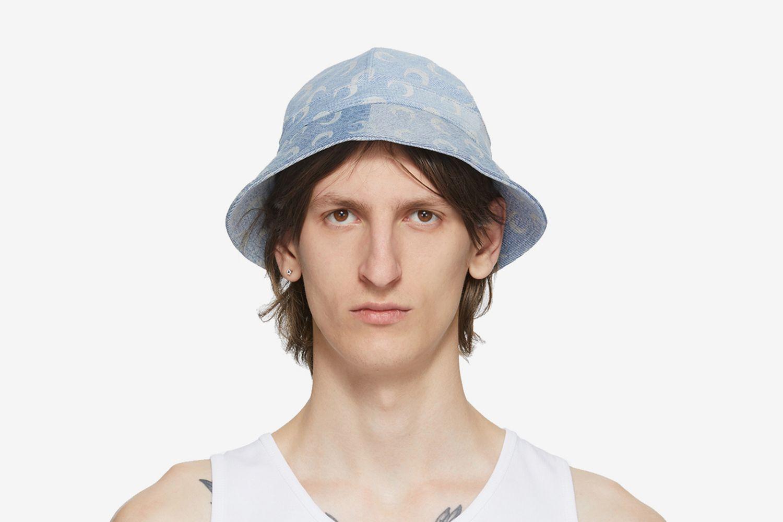Upcycled Denim Mooned Bob Hat