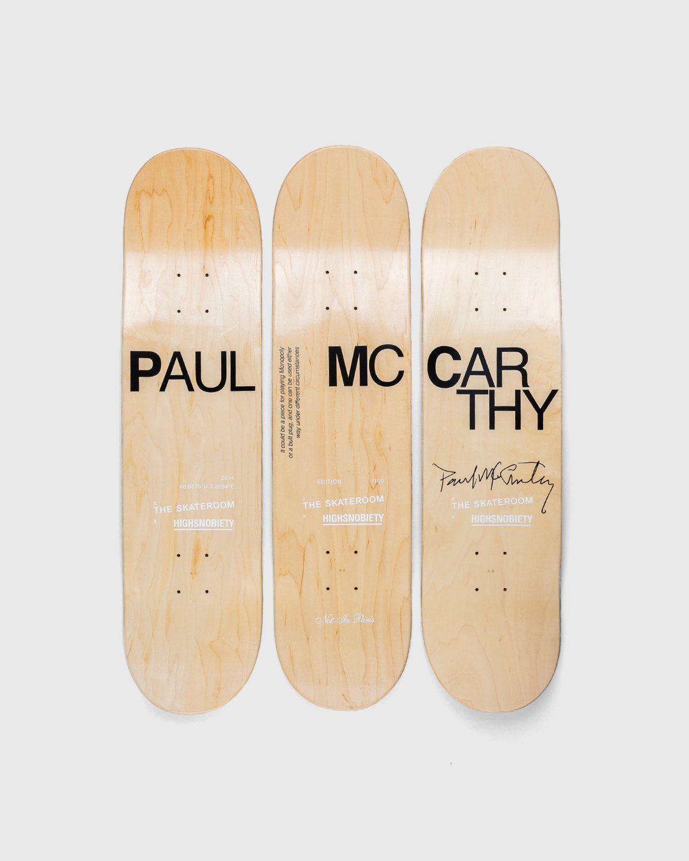 "The Skateroom x Highsnobiety — Paul Mccarthy ""Tree"" Skate Deck Set - Image 2"
