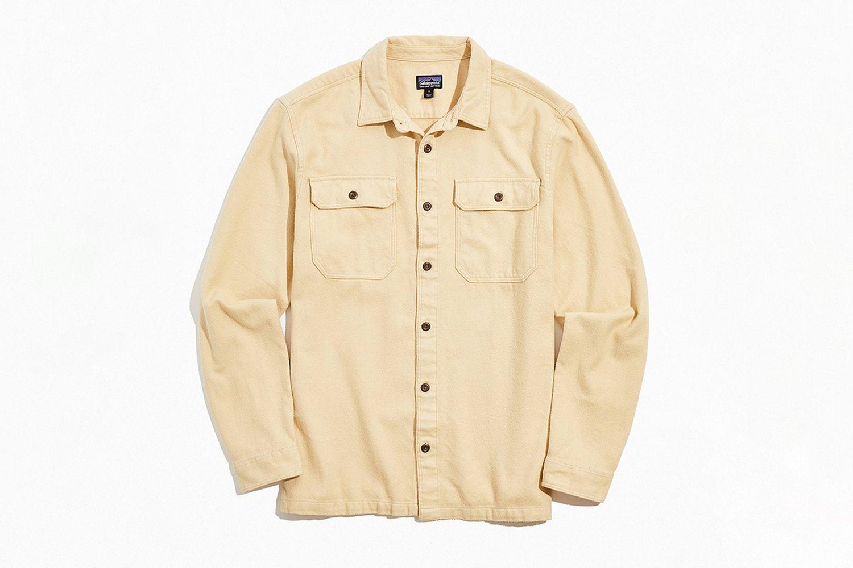 Natural Dye Button-Down Shirt