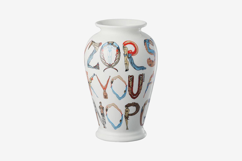 Alphabet Vase