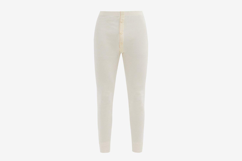 Organic-Cotton Thermal Leggings
