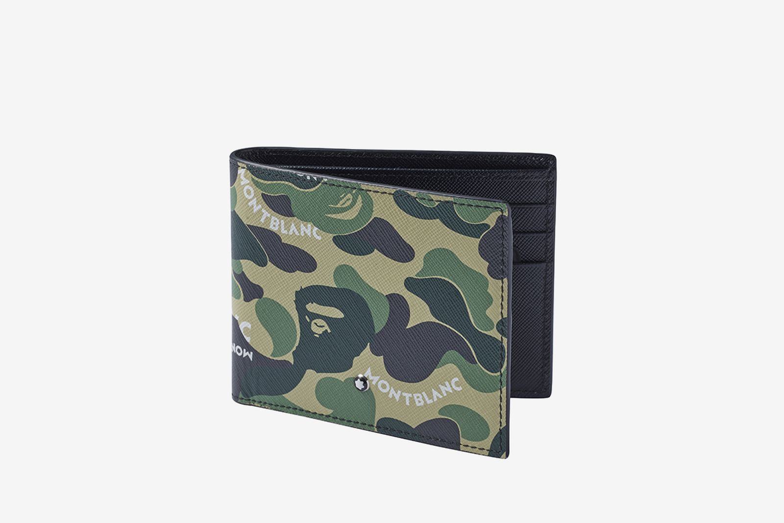 bape montblanc leather collection A Bathing Ape
