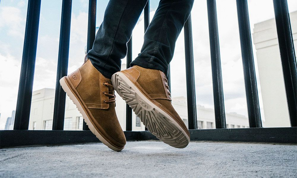 f925d4340a3 The UGG Neumel Chukka Goes Unlined for Year Round Style You Can Flex In