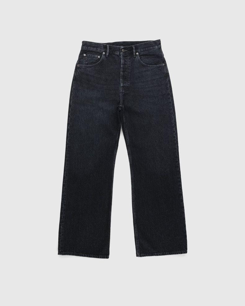 Acne Studios – Brutus 2021M Boot Cut Jeans Black
