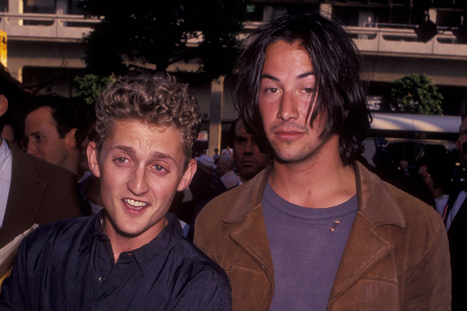 Alex Winter and Keannu Reeves