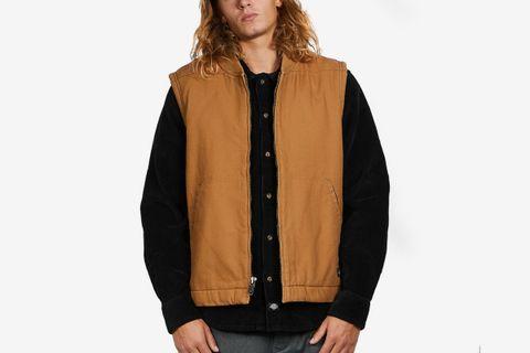 Sherpa Lined Duck Vest