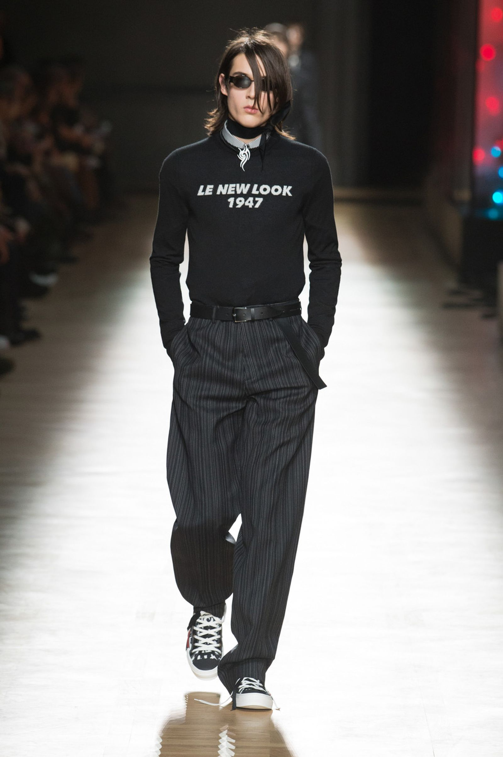 DIOR HOMME WINTER 18 19 BY PATRICE STABLE look46 Fall/WInter 2018 runway