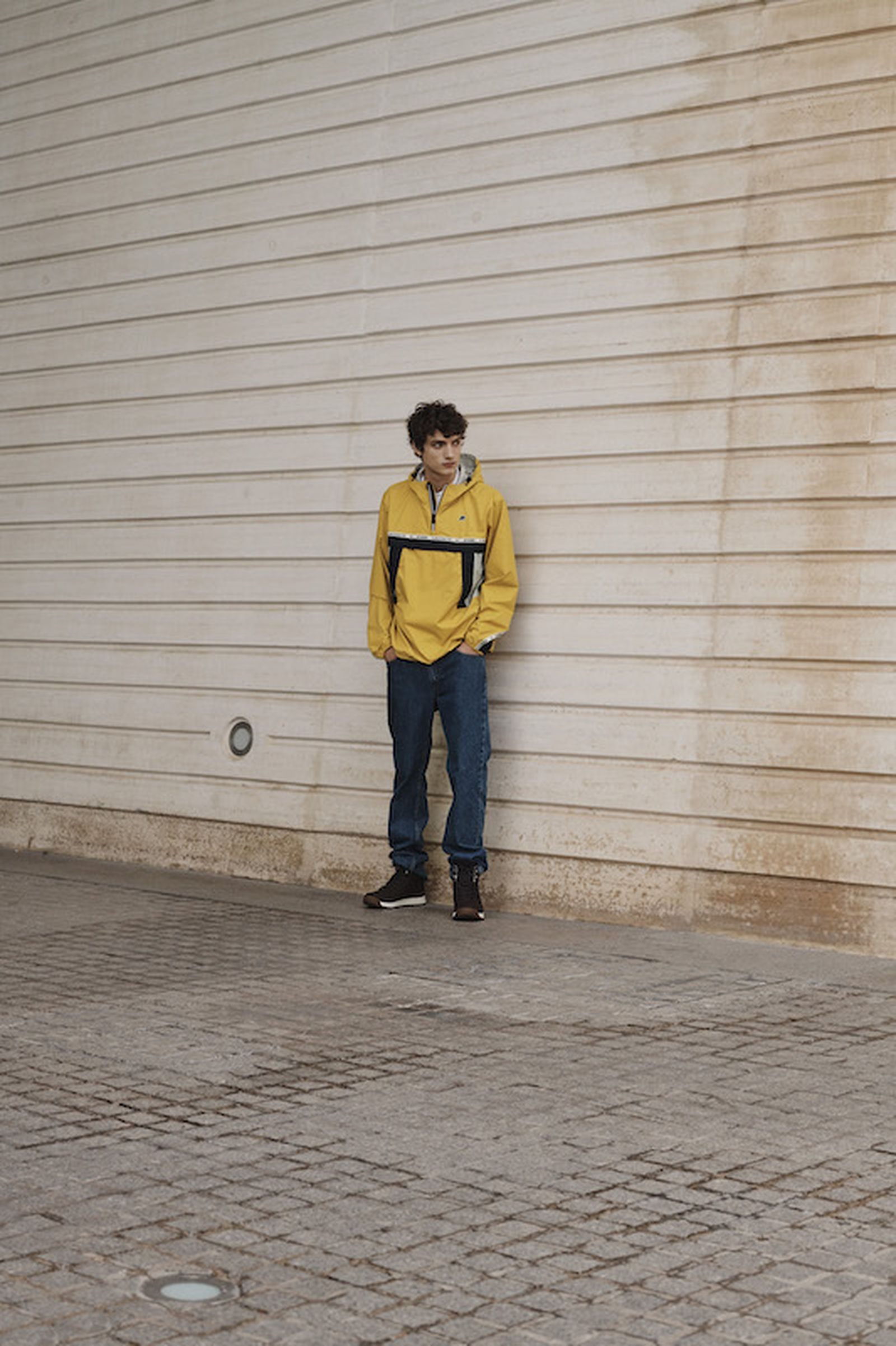 lacoste alpha industries collaboration gloverall k-way pyrenex
