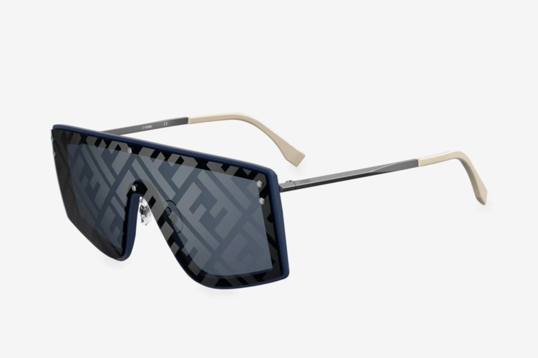 Logo 99MM Shield Sunglasses