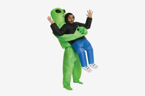 """Inflatable Costume """"Illusion Of Someone Carrying You"""""""