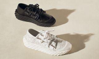 Giuseppe Zanotti's Urchin Sneaker Drops in Triple Black & Triple White Today