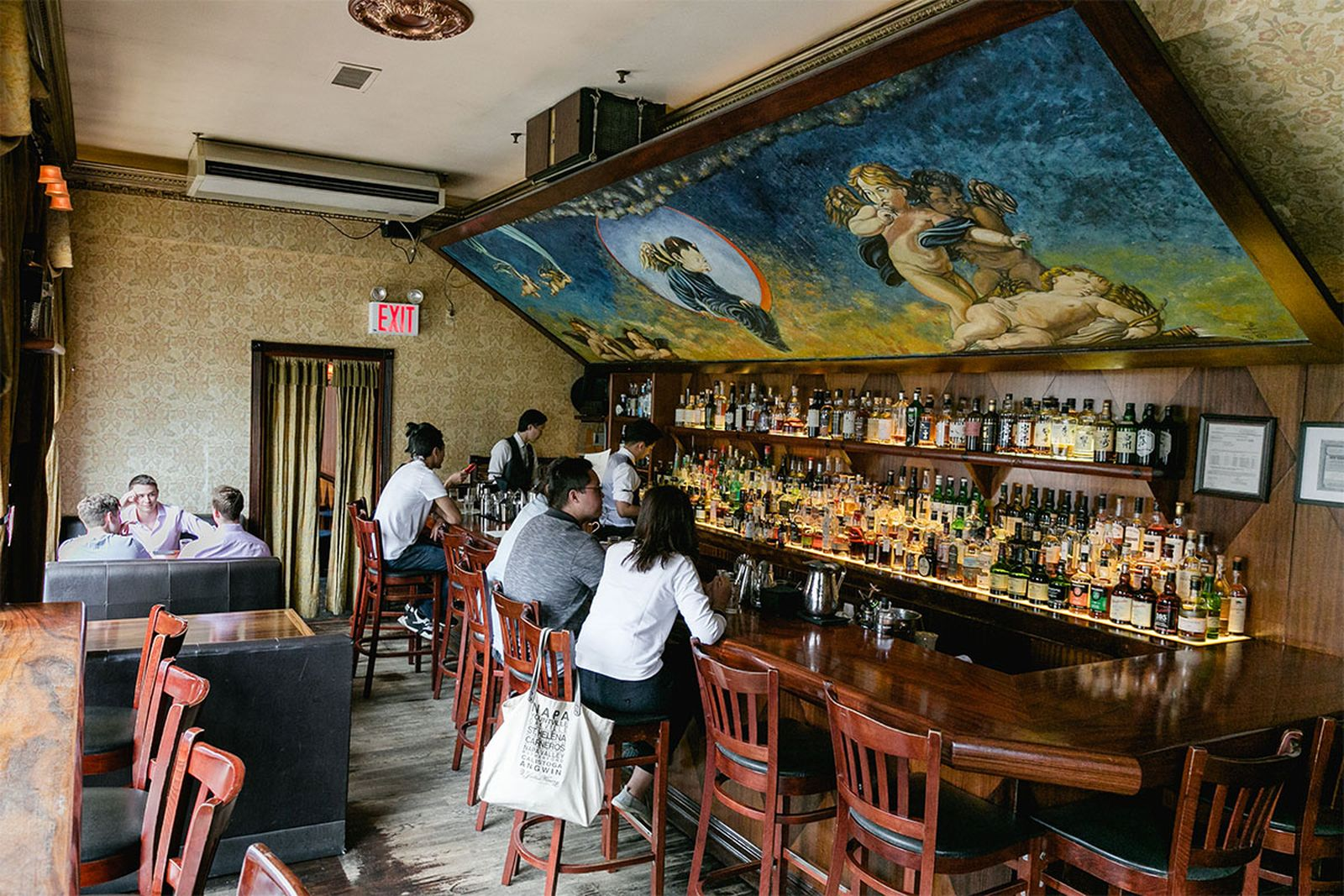 best new york bars angels share AMEX american express platinum food & drink