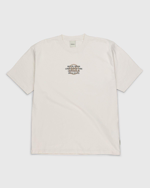 Highsnobiety – Logo T-Shirt Natural - Image 1