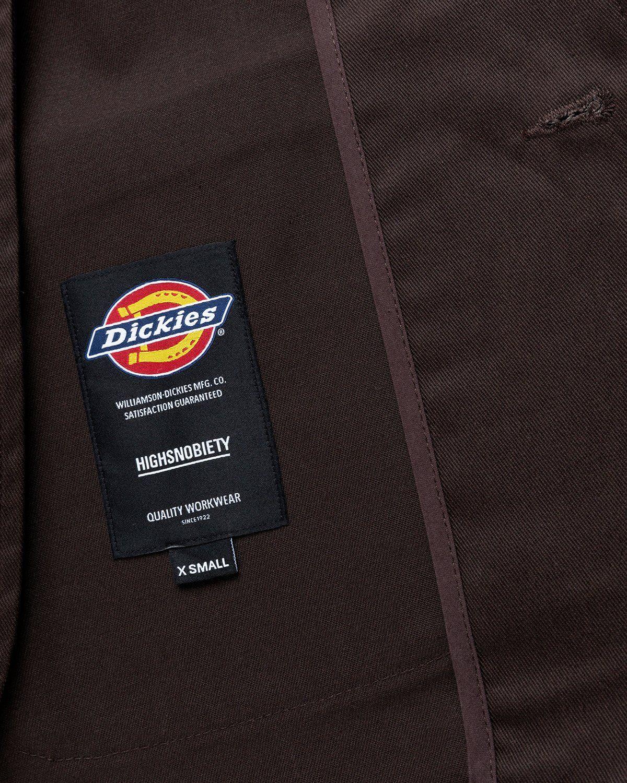 Highsnobiety x Dickies – Blazer Dark Brown - Image 5