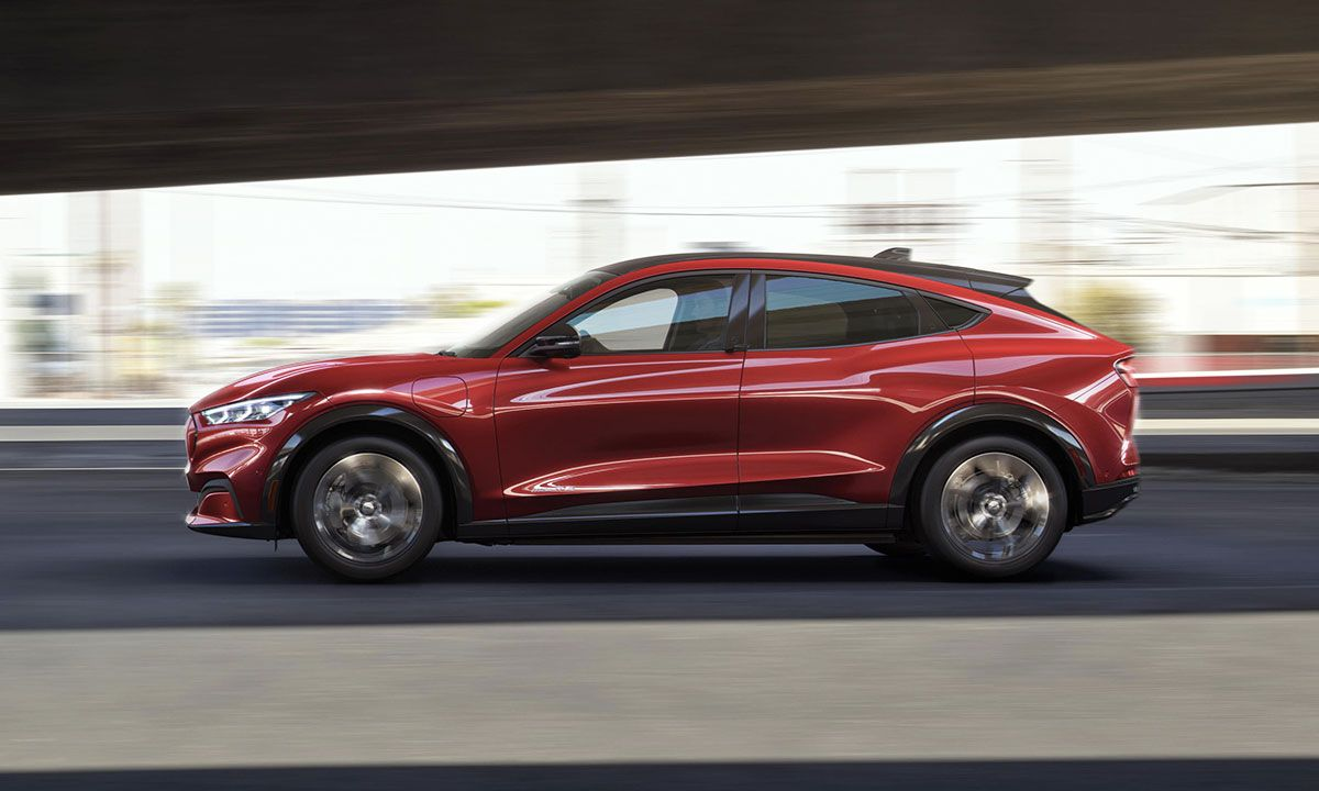 Ford Takes on Tesla With the Its New Electric Mustang SUV