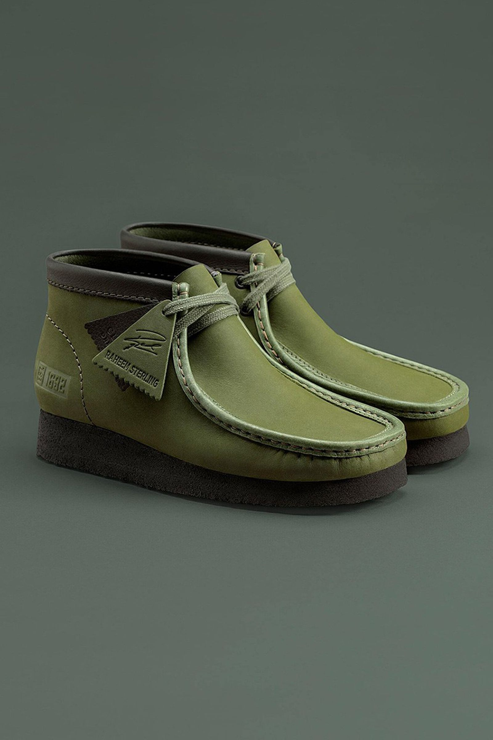 Raheem Sterling Clarks Wallabee