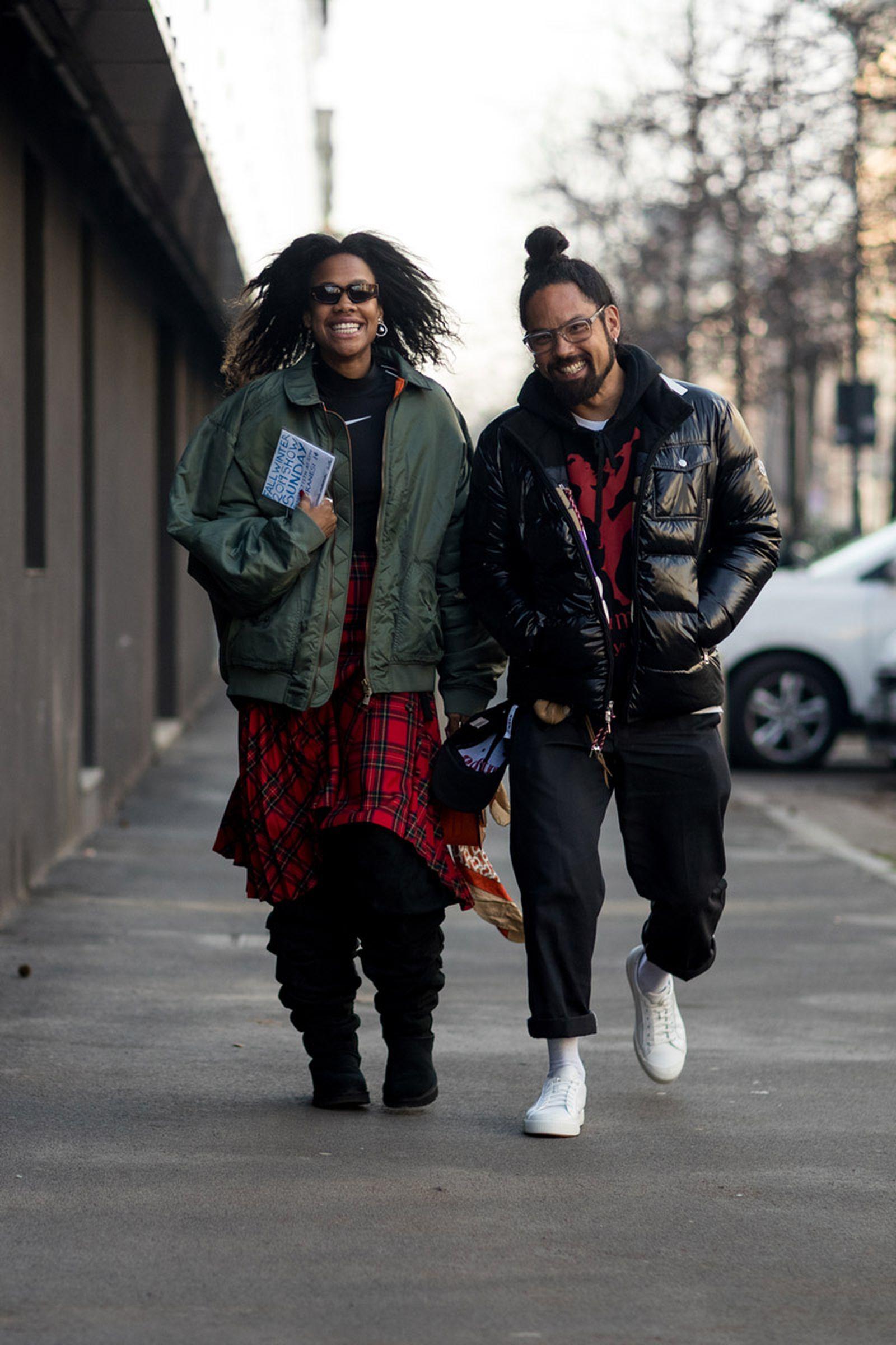 14milan fashion week street style 032c HBA x Colmar Supreme