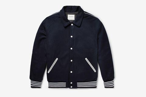 Appliquéd Bomber Jacket