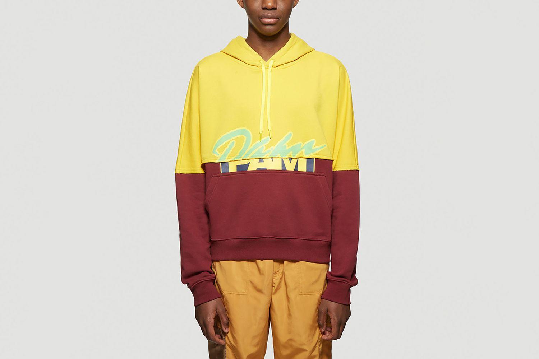 S.Loops Halfway Hooded Sweatshirt