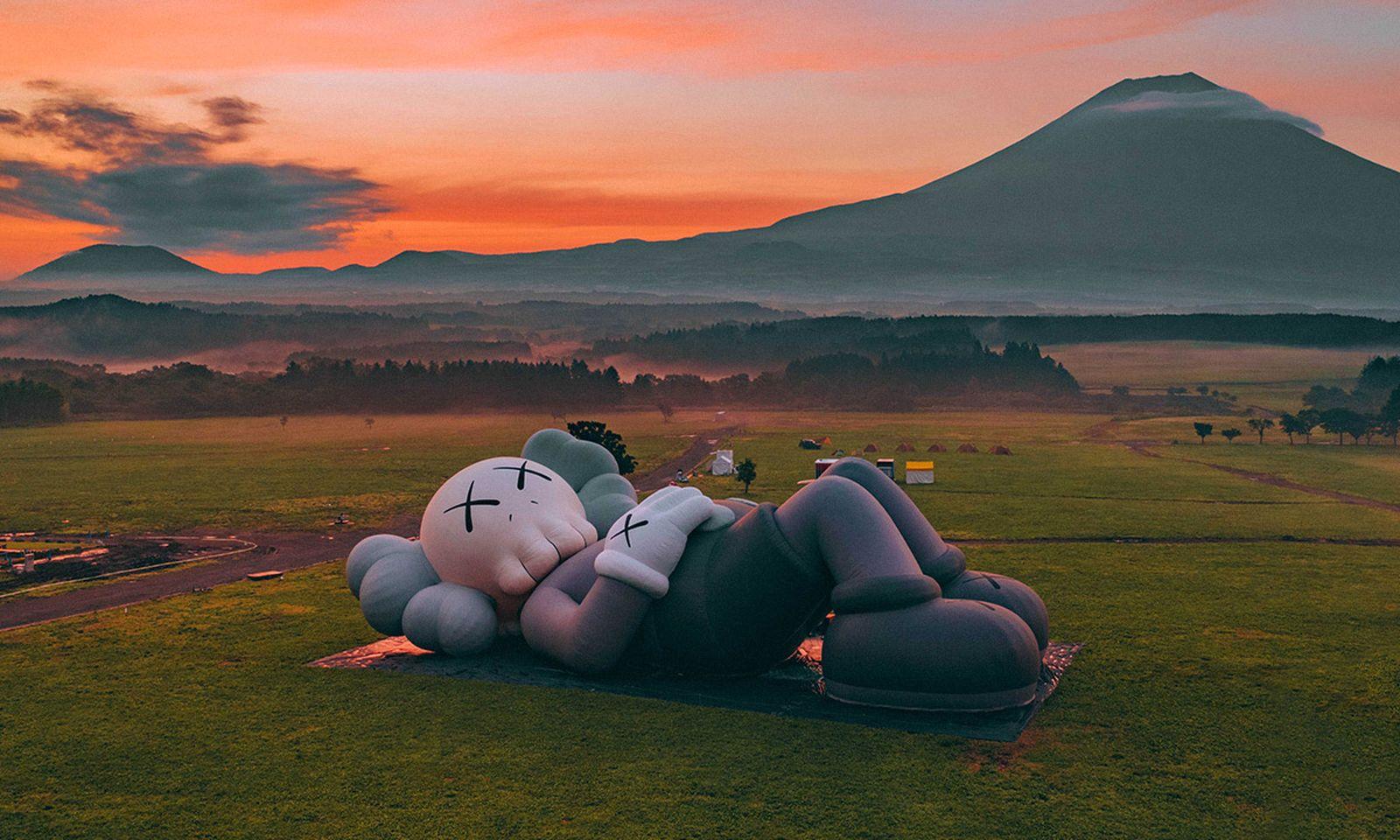 kaws holiday fuji feature Hershel Supply