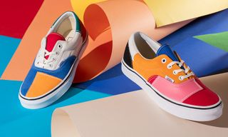 "Banish the Winter Gloom With Vans' Super-Colorful ""Patchwork"" Pack"