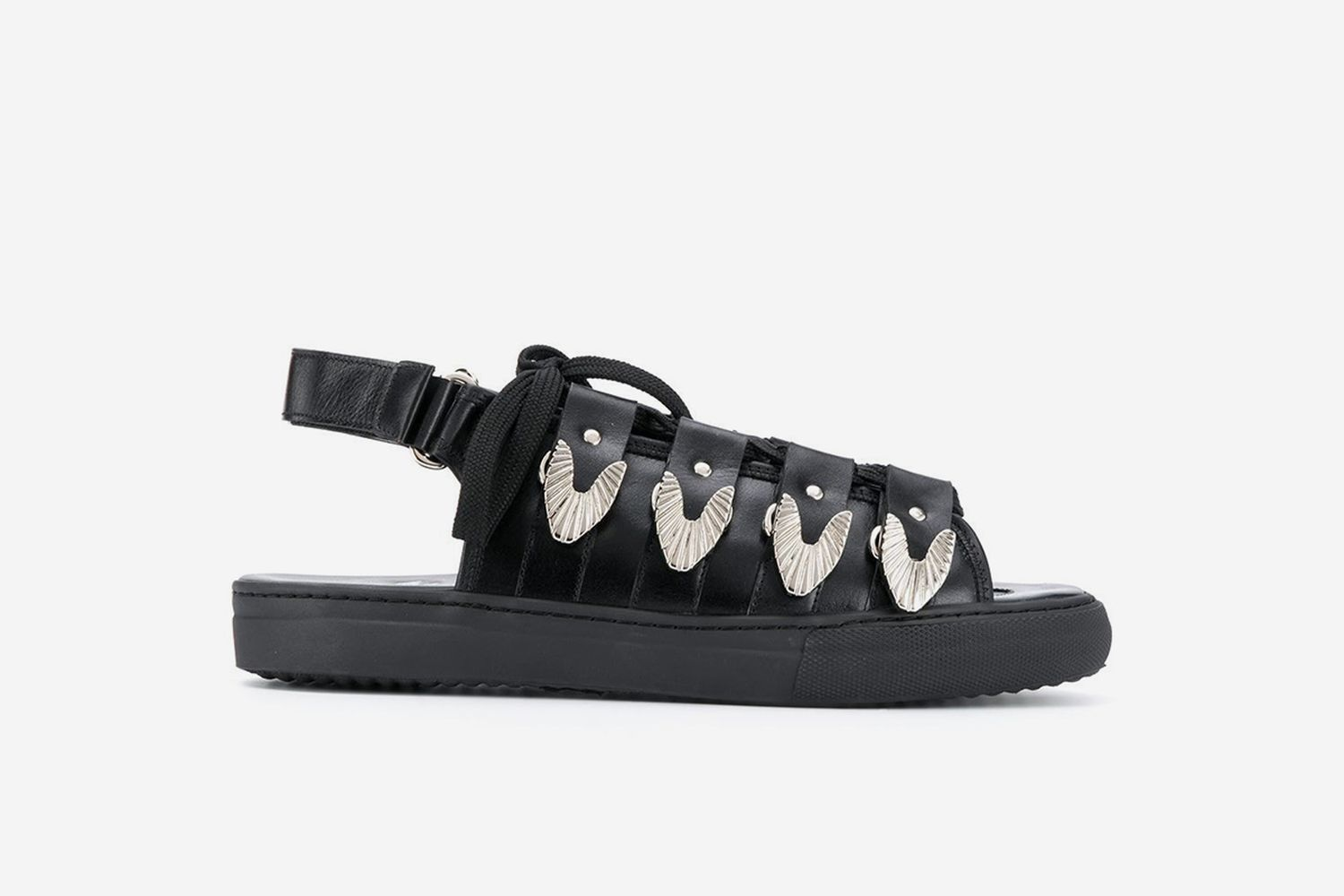 Buckled Cage Sandals