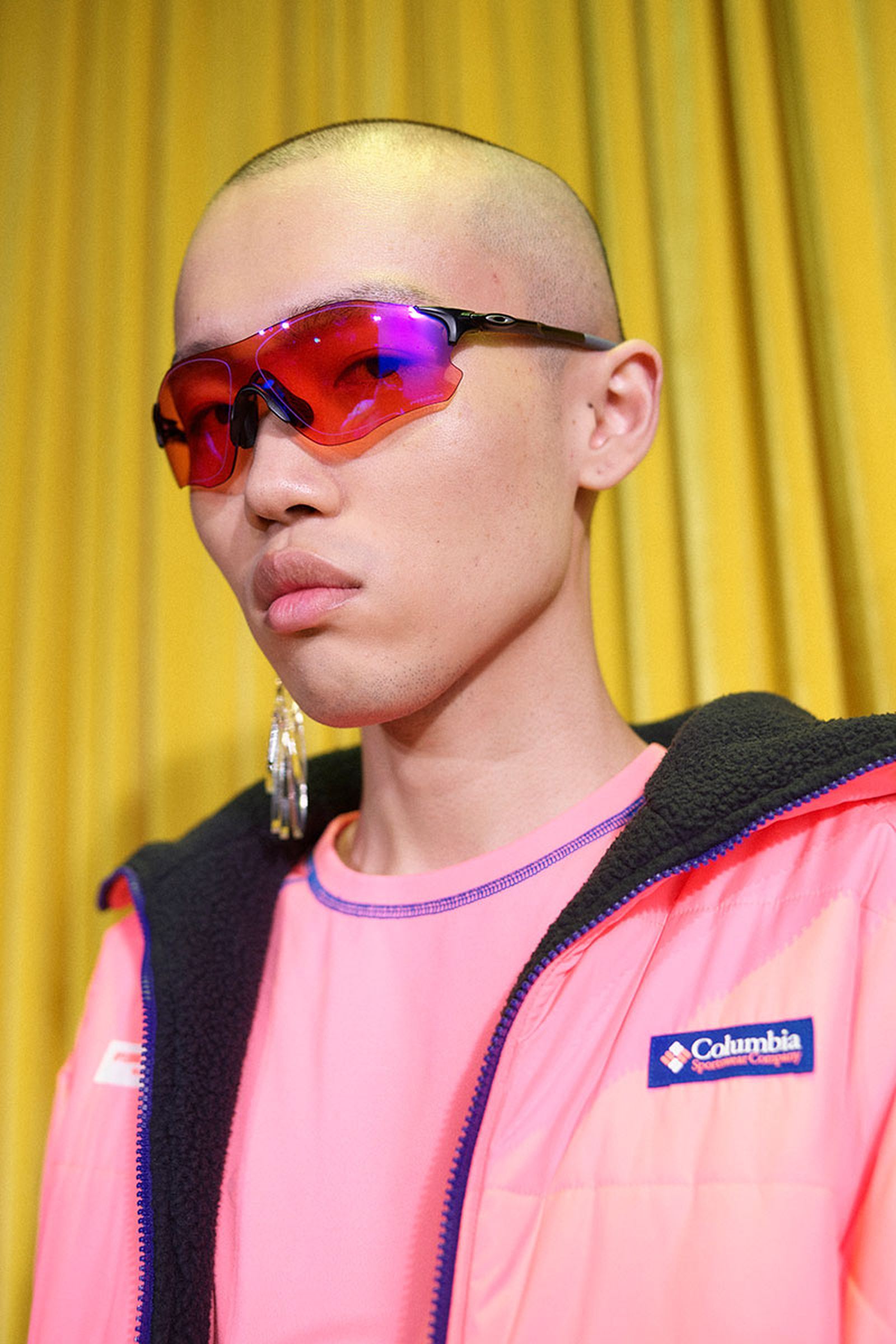 oakley OC runway Paris Fashion Week SS19 Pharrell Williams cycling sunglasses