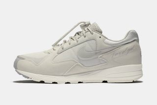 "release date: 097bc b36da Jerry Lorenzo s Fear of God x Nike Air Skylon 2 Surfaces in ""Light Bone""  Colorway"