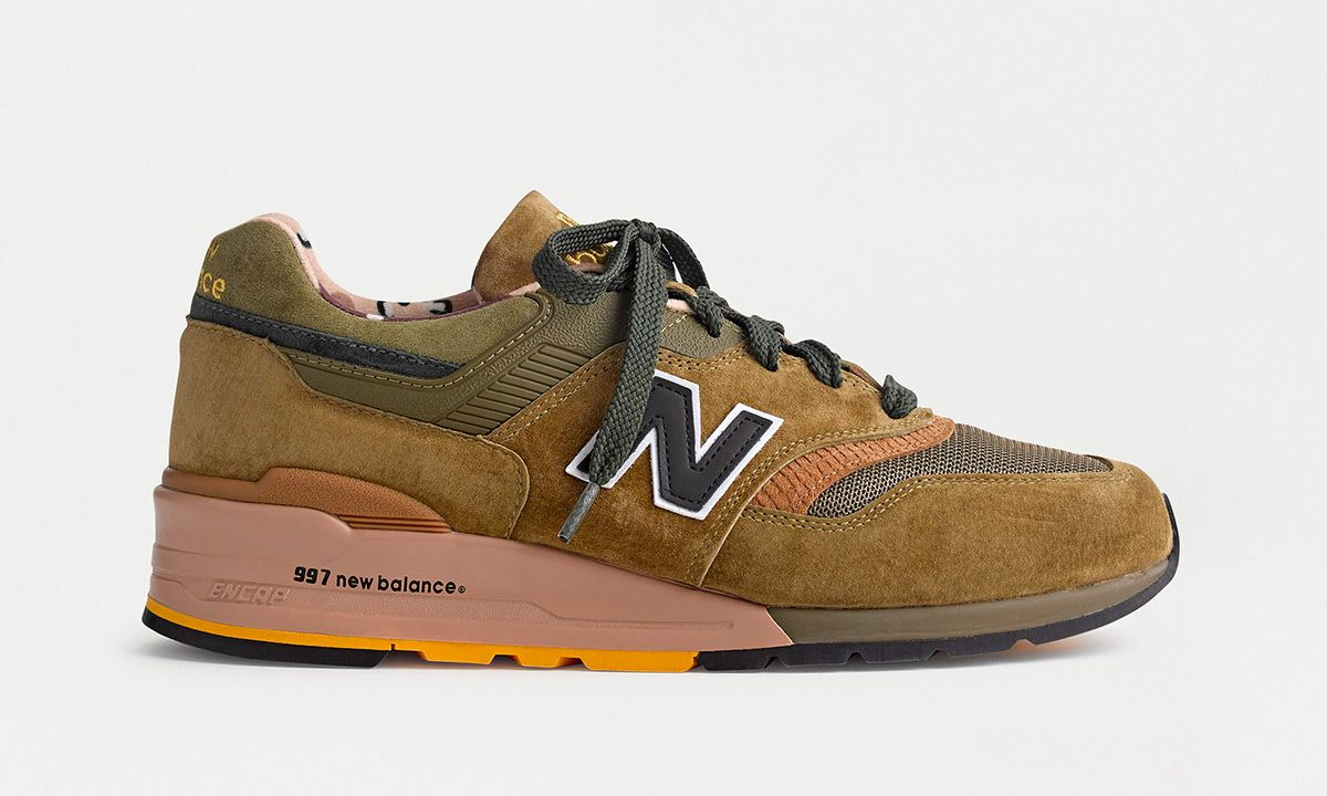 """EXCLUSIVE: J.Crew & New Balance Unveil a Pack of """"Wild Nature"""" 997s"""