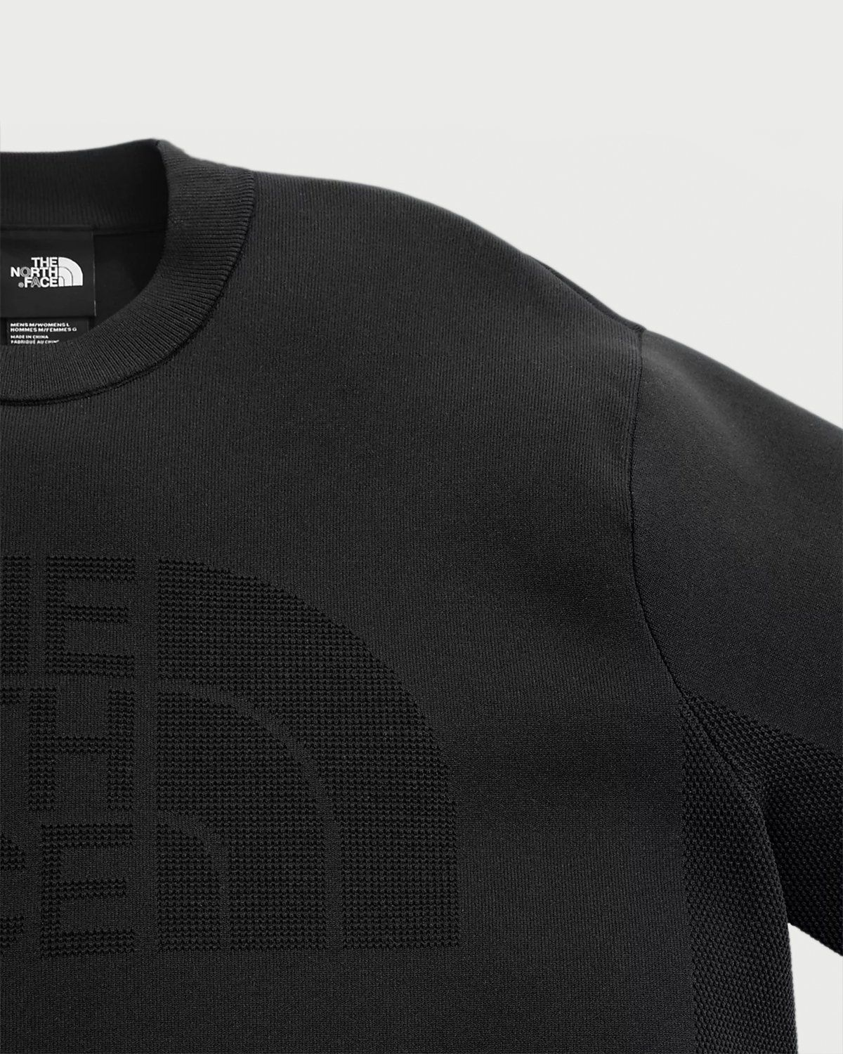 The North Face Black Series - Engineered Knit T-Shirt Black - Image 2