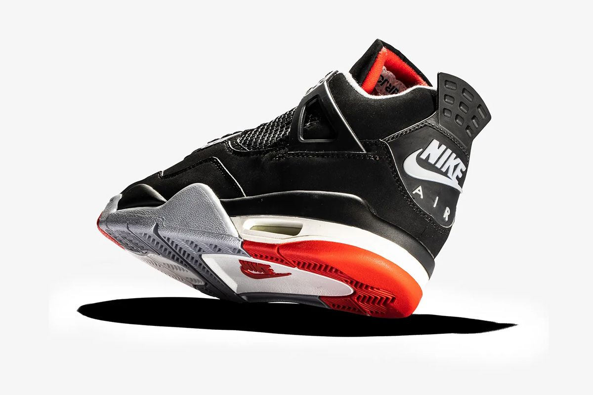 """promo code 14b1d da541 Ten years later, the Nike Air Jordan 4 """"Bred"""" was released again, this time  to celebrate the Tinker Hatfield-designed model s 10th anniversary."""